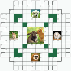 Crossword puzzle №8: ANIMALS