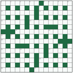 Cryptic crossword №17: DIESEL ENGINE