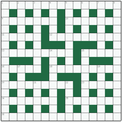 Cryptic crossword №20: FIRST PRINCIPLES