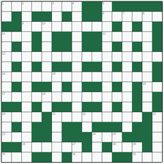 Freeform crossword №11: SUMMER SAVORY