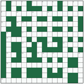 Free online Freeform crossword №17: RUNNING TITLE
