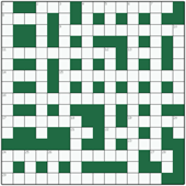 Free online Freeform crossword №3: SPANIEL
