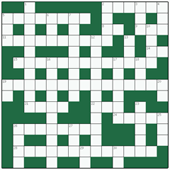 Free online Freeform crossword №4: POTATO