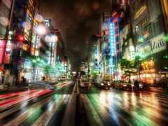 Free online Jigsaw puzzle N74: Night city lights