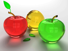 Free online Jigsaw puzzle N79: Apple traffic light